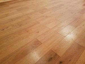 wooden floor install